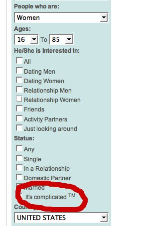 friendster it's complicated trademark relationships single